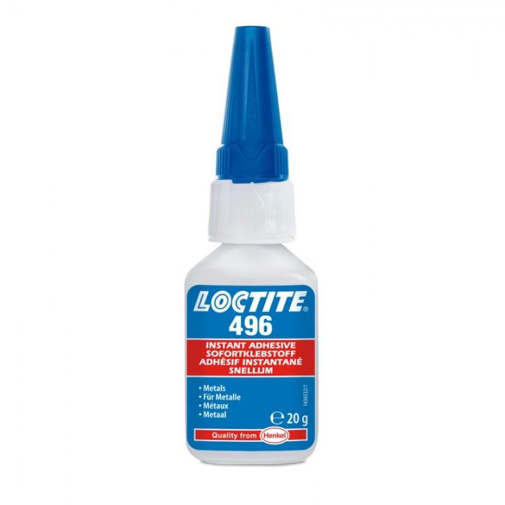 Клей LOCTITE 496 моментальный цианакрилатный  для металлов, резины и пластмасс, 20 г