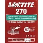 Loctite 270 резьбовой фиксатор высокой прочности, зеленый.