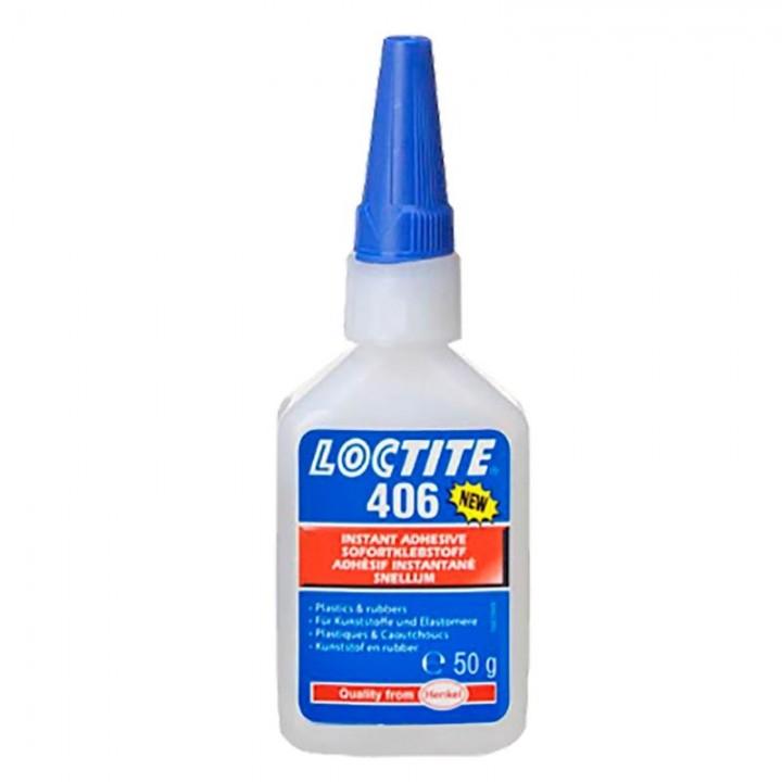 Loctite 406  50 г - клей моментальный цианакрилатный