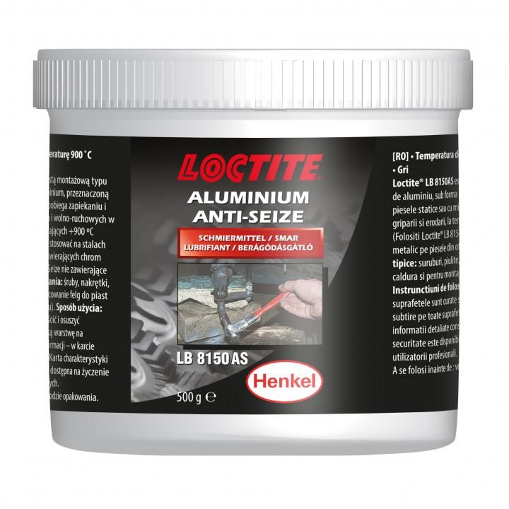 Loctite  8150 противозадирная смазка с алюминием и графитом, высокотемпературная, банка 500 г