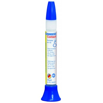 WEICON Contact VA 110 Цианоакрилатный клей (12 г) Основа - этилат С NSF