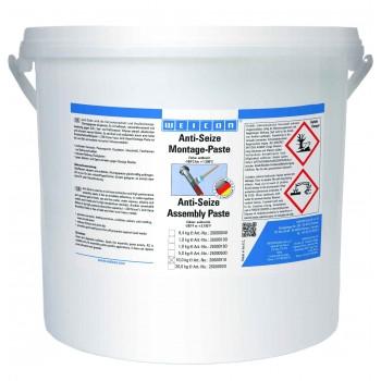 WEICON Anti-Seize Монтажная паста (10 кг) Защита от коррозии и высокопроизводительное смазывающее средство. Ведро.
