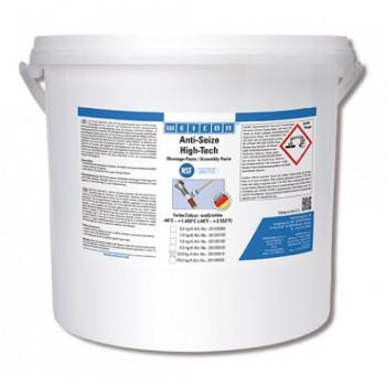 WEICON Anti-Seize High-Tech Монтажная паста (10 кг) антикоррозионное средство, не содержащее метала (менее 0,1%). Ведро.