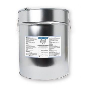 WEICON AL-F Высокоэффективная жировая смазка (25 кг) для вращающихся и скользящих поверхностей, в пищевой промышленности. t°от -30С до +120С.