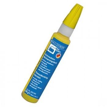 WEICON Лак-фиксатор для болтов (60г) желтый