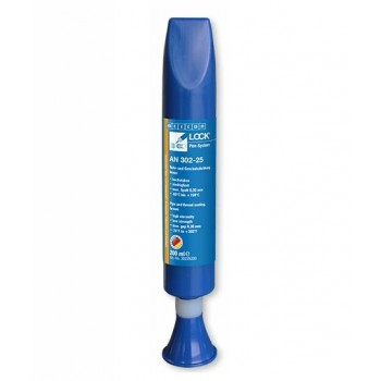 WEICONLOCK AN 302-45 Герметизация резьбовых соединений труб и фитинга (200 мл) средняя сила фиксации, высокая вязкость, макс. зазор 0,30 мм. Синий
